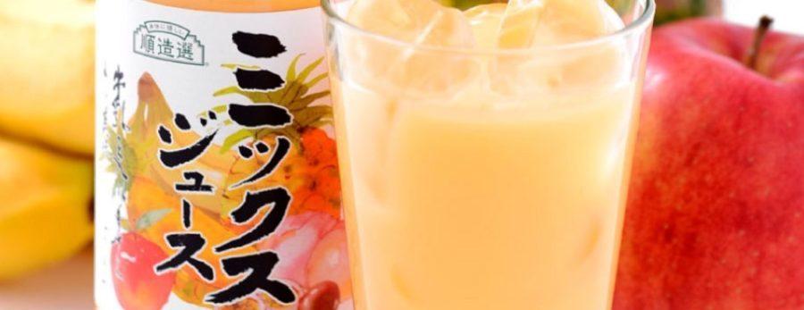 大阪の牛乳で割る昔なつかしいミックスジュース ズームインサタデー