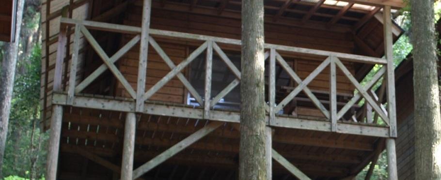 矢谷渓谷キャンプ場 滝のウオータースライダー ヒルナンデス アクセス・地図