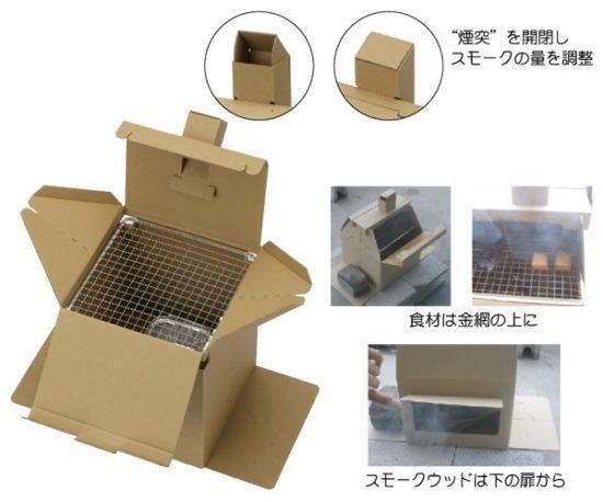 ロゴハウス型の燻製器セット(初心者でも簡単)SOTO