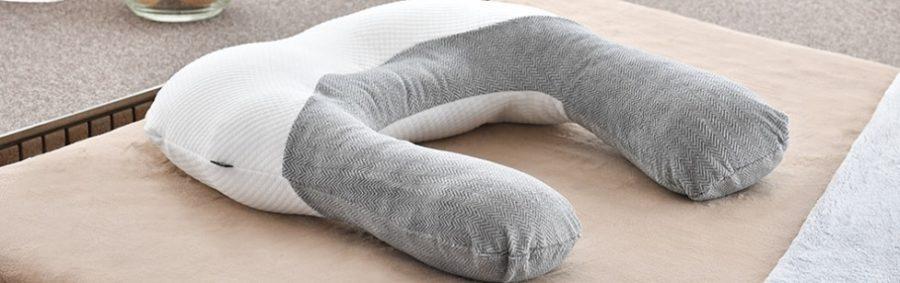 ほっとな抱かれ枕(眠り製作所)めざましテレビで紹介 首、肩、二の腕が暖かい枕
