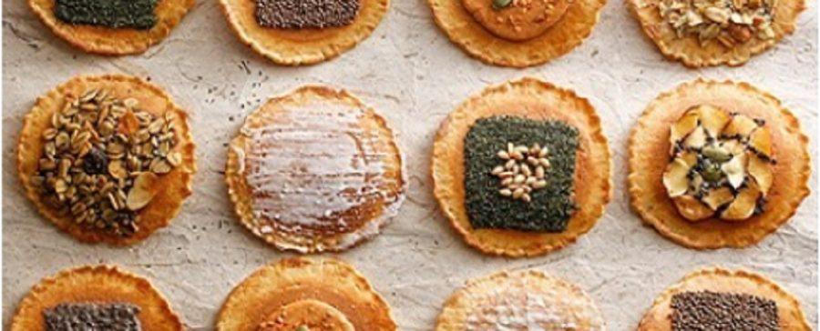 グラノーラや珈琲をトッピングした味噌煎餅 飛騨高山のお土産お煎餅 岐阜県飛騨市古川町
